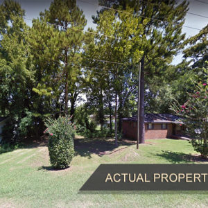 0.11 Acre Residential Treed Lot with Electric in Lincoln, AL