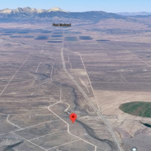 Mountain Views from this 5.15 acre lot in Costilla County - Land for Sale