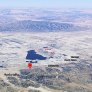 Searles Valley Property Backing to Open Space - 0.32 Acres in Trona, California